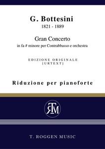 Gran Concerto  in fa# minore