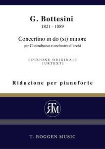 Concertino in do (si) minore